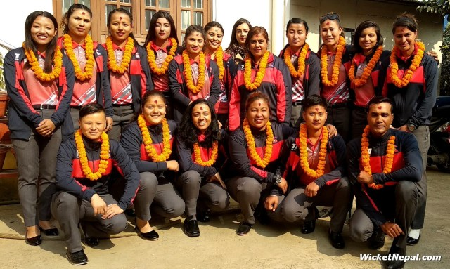 Nepal Women's National Cricket Team