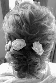 Wedding hair by Wickham Studio