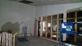 The staff room