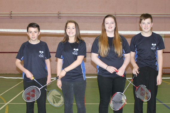 (From Left) Owen Mathieson, Morven Coghill, Carly Sinclair and Robbie Gunn