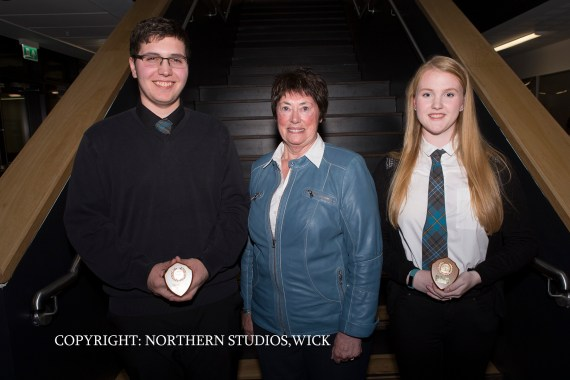 Greg Morgan and Beth Harper, winners of The David Lockie Memorial Prize