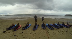 Some photos from our first surf trip to Dunnet beach.
