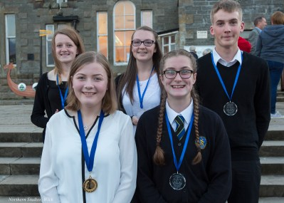 Our 5+ Grade 'A' Pupils: Leanne Rosie, Bethan Higham, Andreas Ramsoy, Caitlyn Taylor, Shona Tait & Beth Harper (not pictured)