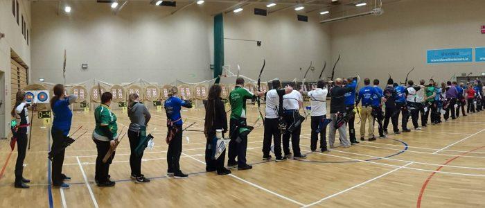 People shooting in the Wicklow Open Indoor in Shoreline