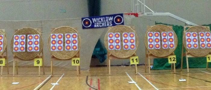 Wicklow Open Indoor in Shoreline Target Setup
