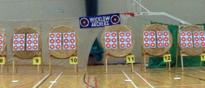 Wicklow Open Indoor in Shoreline Target Setup