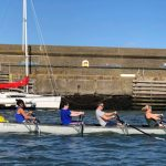 Crew out rowing in Wicklow