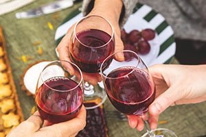 Red Wine: A Finely-Aged Merlot Keeps You Aging Finely