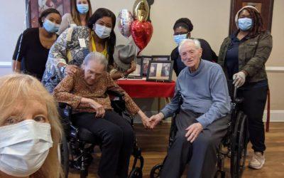 Couple Celebrates 70th Anniversary at Metro Atlanta Senior Home