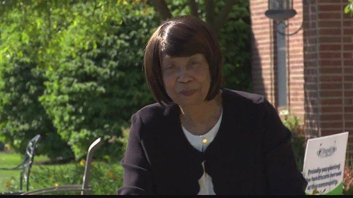 Senior community resident was first black teacher in Indiana hometown