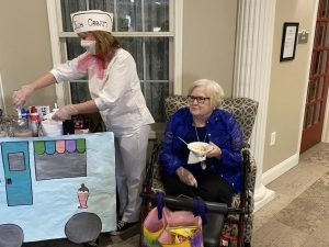 Fairborn assisted living home gets creative during pandemic
