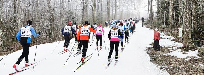 Borås Ski Marathon 2017 starten