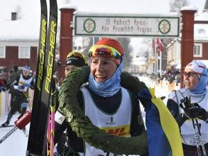 Katerina Smutna, vinnare Vasaloppet 2016. Foto: Vasaloppet.