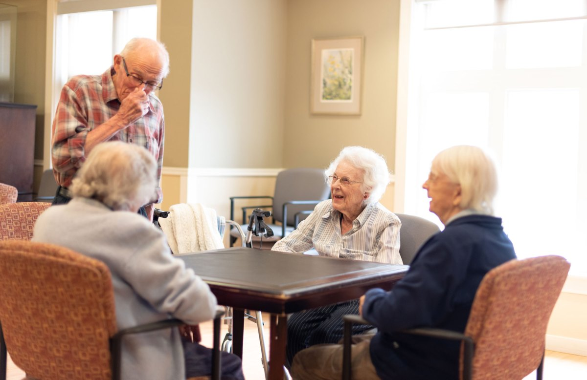 Wickwire Place residents