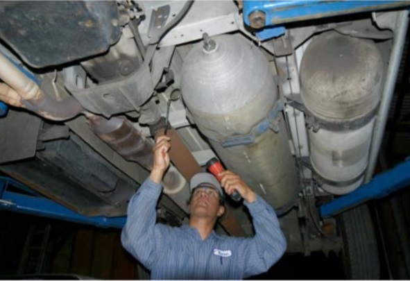 January 1415 2019 CNG Tank  Fuel System Inspector
