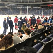 outing hockey game