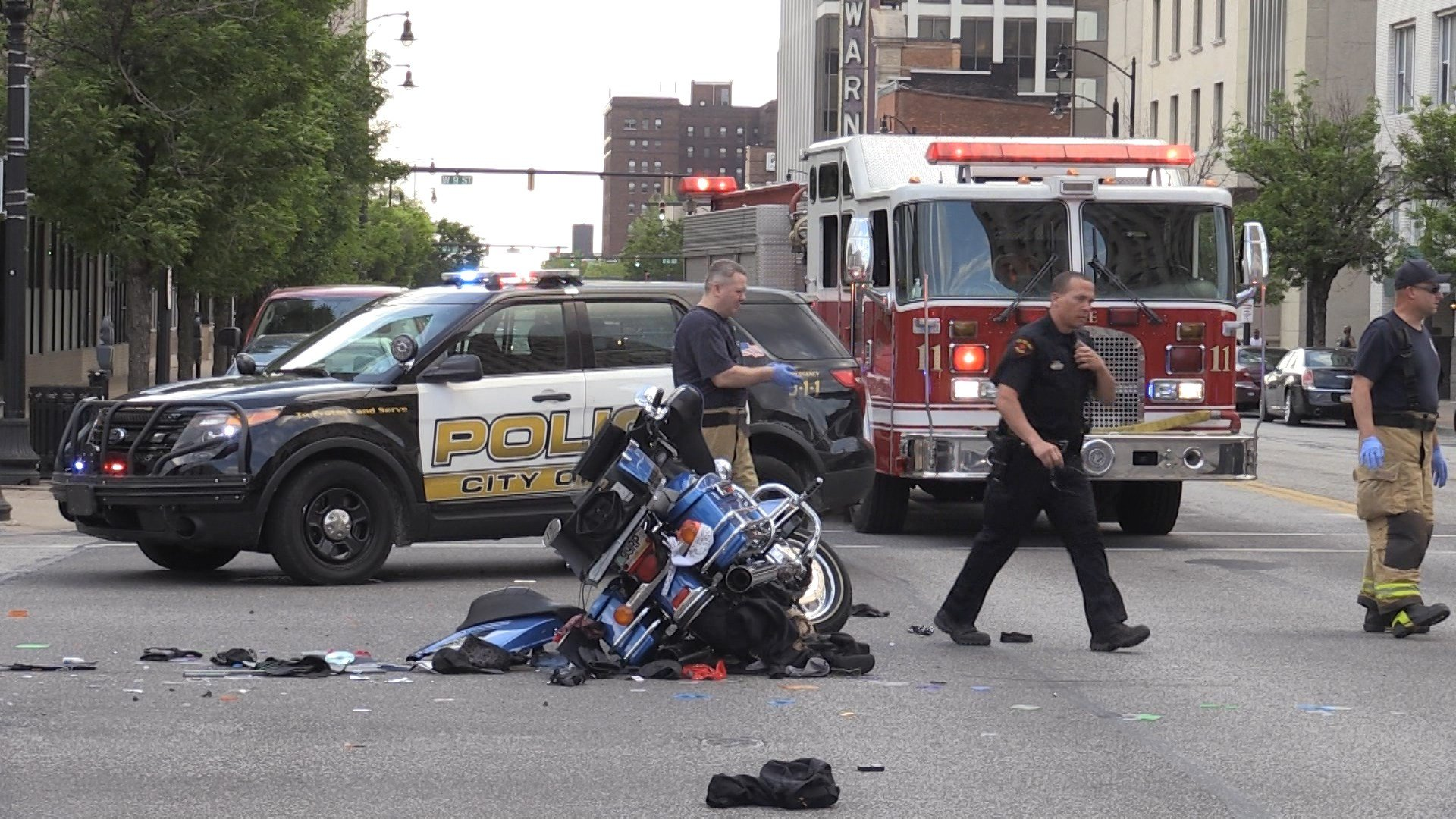 Motorcyclist Hurt in Accident Last Thursday Dies at
