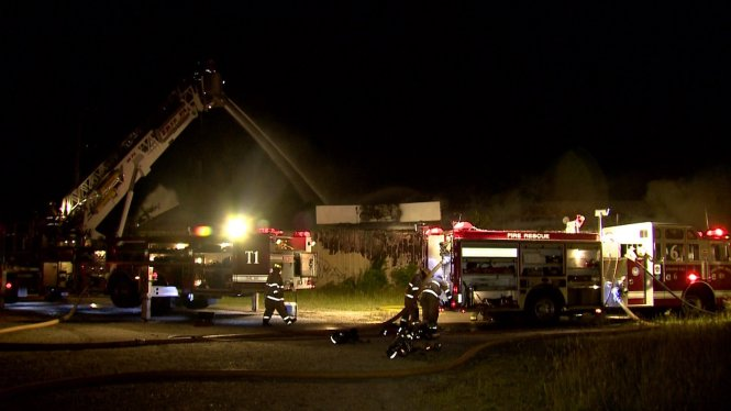 Site Of West Erie Mattress Fire Back Up In Flames