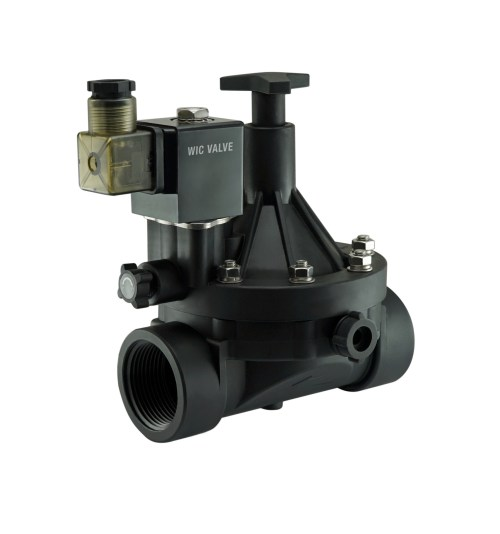 small resolution of 2 inch plastic flow control manual override electric water valve