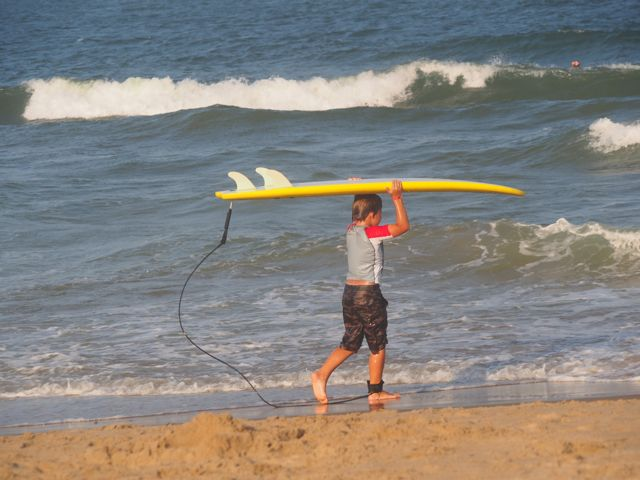 Beach hook up story