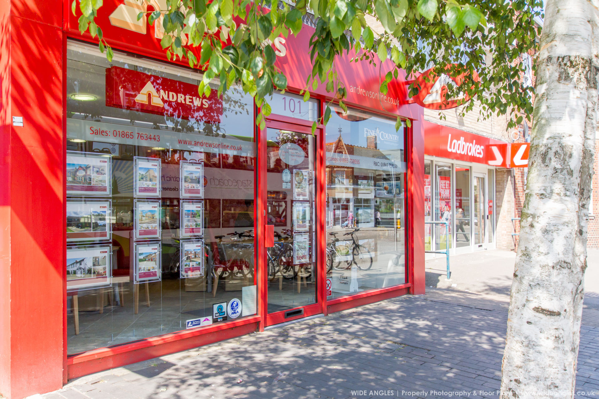 Wide Angles Property Marketing Services - Branch Services