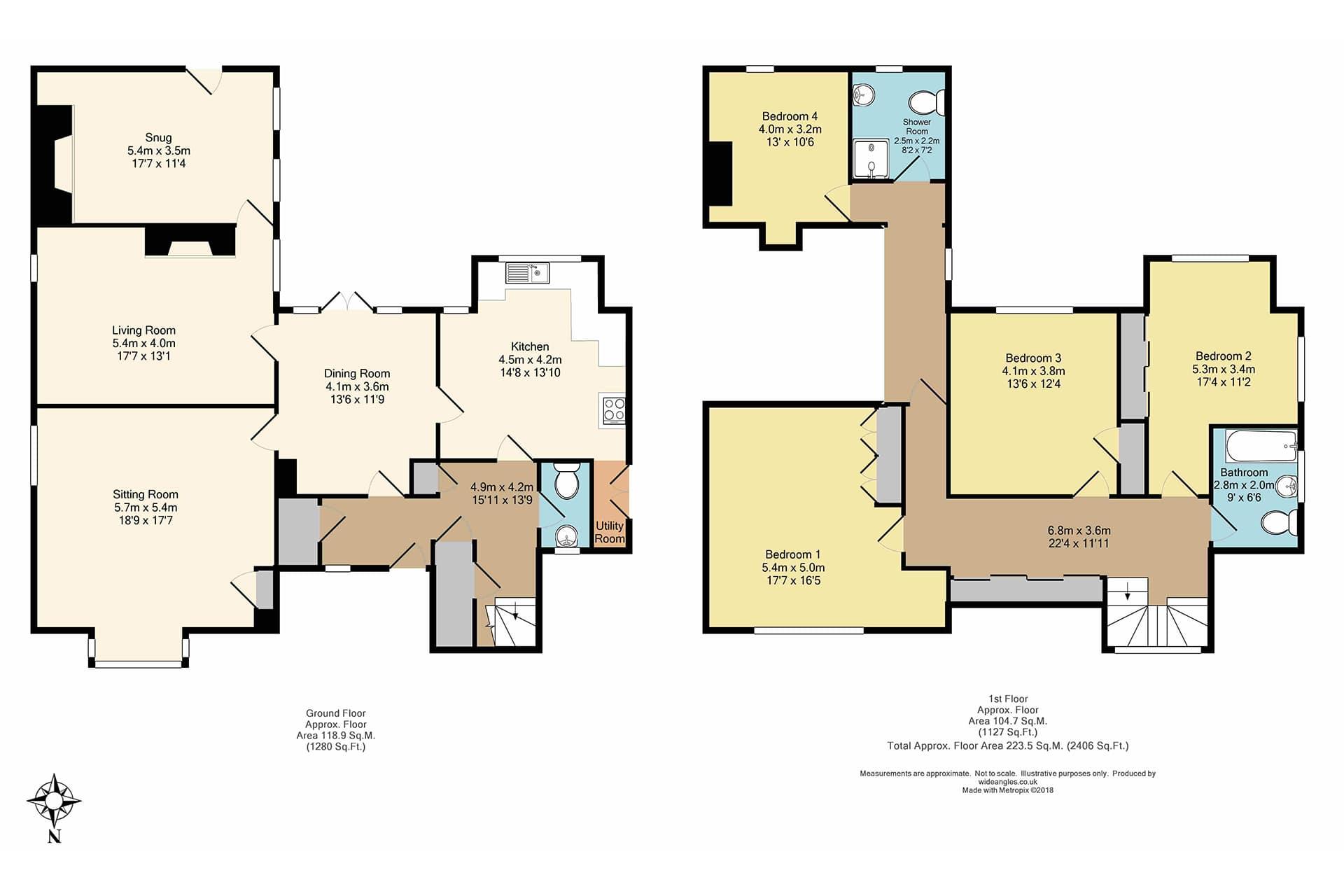 Wide Angles floor plan