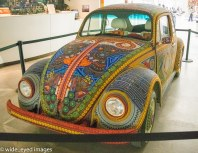 Embroided VW Beetle.