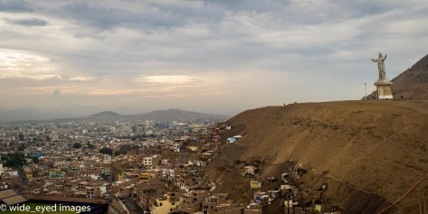 Lima, Peru - View from the top.