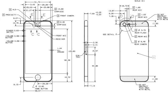 Apple iPhone 5 Schematic Available for Manufacturers
