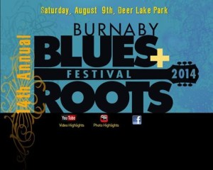 2014 Burnaby Blues & Roots Festival