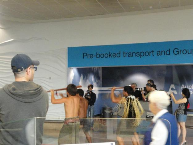 1.We arrived at Auckland airport on 18th Dec and were fortunate to witness a Maori haka at the airpport itself