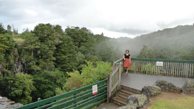 13 Onto Whangarei falls, the most photogenic falls in the North Island