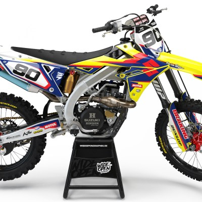 Suzuki Undefeated crossdekaler