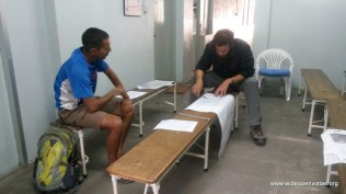 Sudeep and Seth also got trained in community assessments by Theo at the International Organization on Migration
