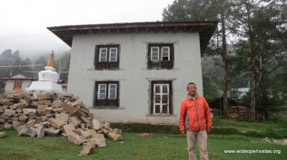 Dorjee lived in this building when he was a child monk from 9-18 years old.