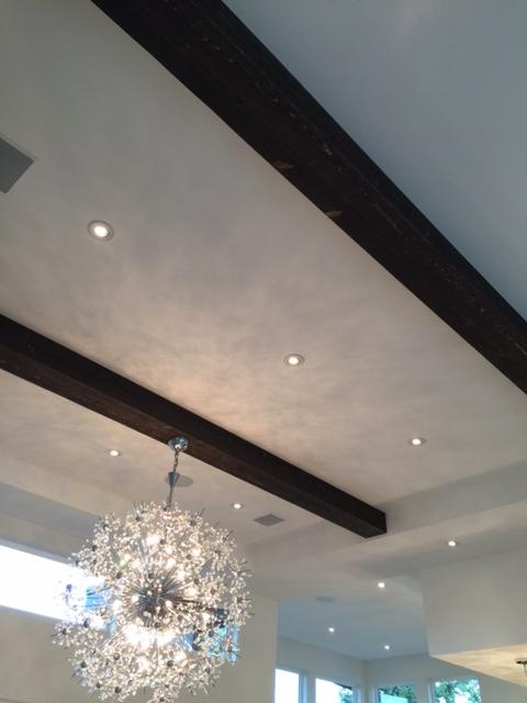 Wide Plank Hardwood  Beam Cladding