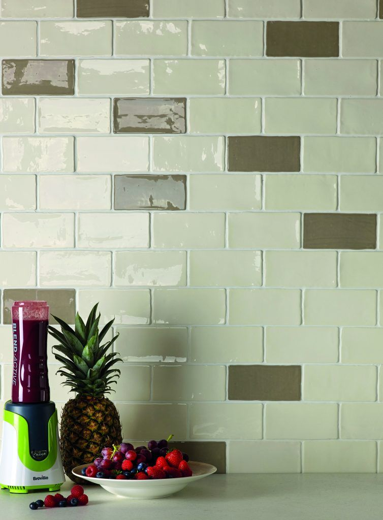 renaissance collection charmed rustic wavy edge gloss wall tile 150 x 75mm