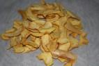 getrocknete Apfelspalten