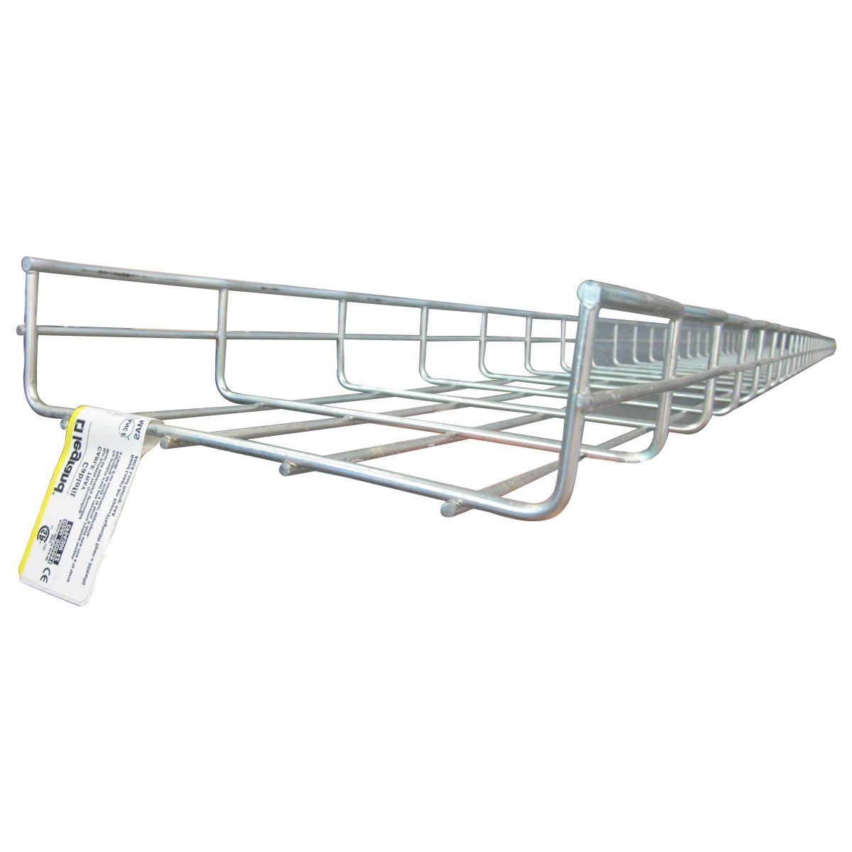 Bandeja porta cable tipo escalerilla galvanizada 0.10 m x