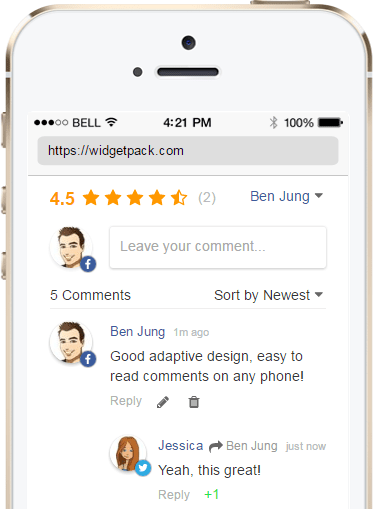 free comment system create