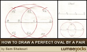 How To Draw A Perfect Oval Shape