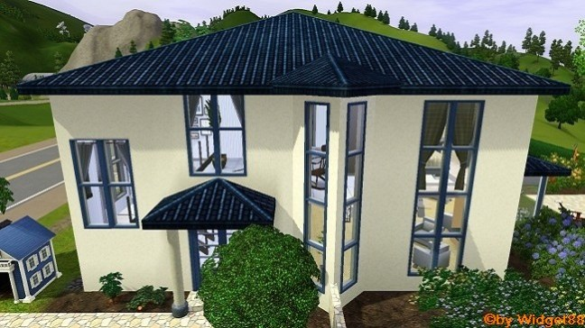 Blue Accent – Sims 3