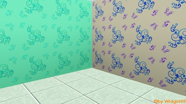 Florales Ornament 1 – Muster Sims 3
