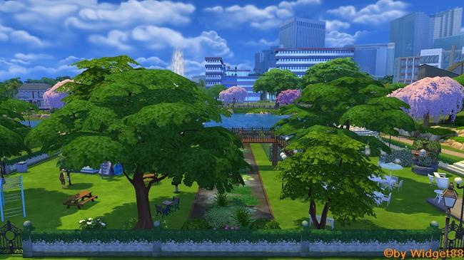 Park am Kanal