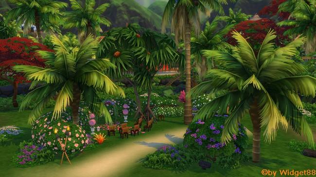 Little tropical Wedding