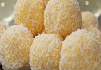 Resep Coconut Cheese Ball yang Enak