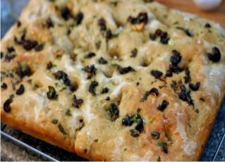Resep Focaccia Bread Ala Italia