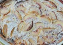 Resep Peach Clafouti yang Enak