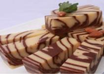 Resep Puding Marmer Coklat yang Enak