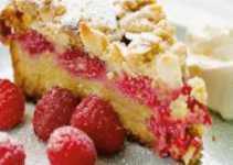 Resep Strawberry Streusel Cake yang Lembut